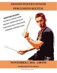 Desmin Peifer's Senior Percussion Recital