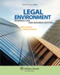 Legal Environment: Business Law and Business Entities by Brian J. Halsey