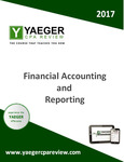 CPA Yaeger Review - Financial Accounting and Reporting by Anthony J. Cataldo II