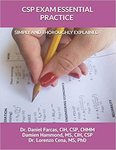 CSP EXAM ESSENTIAL PRACTICE SIMPLY AND THOROUGHLY EXPLAINED