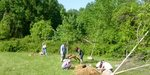 Dr. Heather Wholey's Archaeology Field School, Gordon Natural Area (4) by Gerard Hertel