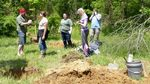 Dr. Heather Wholey's Archaeology Field School, Gordon Natural Area (8) by Gerard Hertel