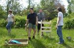 Dr. Heather Wholey's Archaeology Field School, Gordon Natural Area (10) by Gerard Hertel