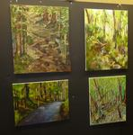 Art in the Gordon Natural Area with Prof. Kate Stewart's Classes (4)