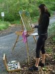 Art in the Gordon Natural Area with Prof. Kate Stewart's Classes (10)