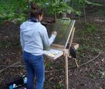 Art in the Gordon Natural Area with Prof. Kate Stewart's Classes (11)