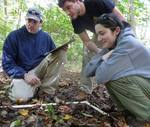 Dr. Fairchild's Population Biology Class in the Gordon Natural Area (1)