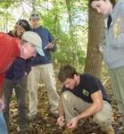 Dr. Fairchild's Population Biology Class in the Gordon Natural Area (7)