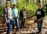 Dr. Fairchild's Population Biology Class in the Gordon Natural Area (8)