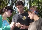 Dr. Fairchild's Population Biology Class in the Gordon Natural Area (16)
