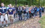 "Karin Volkwein's ""Sport, Culture, and Society"" class (KIN 246) visits the Gordon Natural Area (2)"