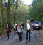 "Karin Volkwein's ""Sport, Culture, and Society"" class (KIN 246) visits the Gordon Natural Area (4)"