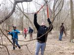 Removing Non-native Vines from the Gordon Natural Area (1)