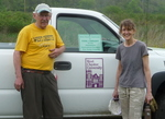 East Bradford Riparian Forest Planting, Gerry Hertel and Patricia Williams