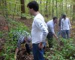 Friars' Society Pulling Invasive Jetbead and Planting Native Trees, Gordon Natural Area (4)