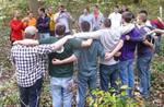 Friars' Society Pulling Invasive Jetbead and Planting Native Trees, Gordon Natural Area (17)