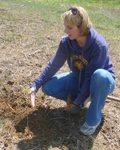 Tree Campus USA/Arbor Day 2015 tree planting, Gordon Natural Area (4)