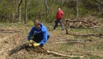 Tree Campus USA/Arbor Day 2015 tree planting, Gordon Natural Area (7) by Gerard Hertel