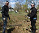 Tree Campus USA/Arbor Day 2015 tree planting, Gordon Natural Area (9)