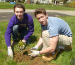 Tree Campus USA/Arbor Day 2015 tree planting, Gordon Natural Area (13)