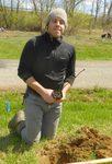 Tree Campus USA/Arbor Day 2015 tree planting, Gordon Natural Area (19)