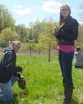 Tree Campus USA/Arbor Day 2015 tree planting, Gordon Natural Area (22)