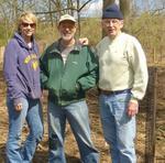 Tree Campus USA/Arbor Day 2015 tree planting, Gordon Natural Area (30)