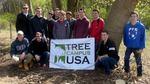 Tree Campus USA/Arbor Day 2015 tree planting, Gordon Natural Area (32)
