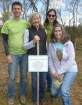 Tree Campus USA/Arbor Day 2015 tree planting, Gordon Natural Area (33)