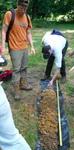 Soil Sampling, Gordon Natural Area (6) by Gerard Hertel