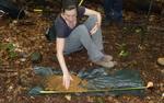 Soil Sampling, Gordon Natural Area (9) by Gerard Hertel