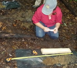 Soil Sampling, Gordon Natural Area (12) by Gerard Hertel