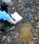 Soil Sampling, Gordon Natural Area (17) by Gerard Hertel