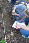 Soil Sampling, Gordon Natural Area (18) by Gerard Hertel