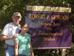 Picture by the Gordon Natural Area Sign (6)