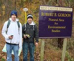 Picture by the Gordon Natural Area Sign (15)