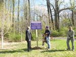 Gordon Natural Area Tree Grove sign unveiling (3)