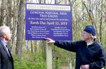 Gordon Natural Area Tree Grove sign unveiling (4)