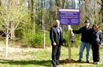 Gordon Natural Area Tree Grove sign unveiling (6)