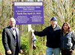 Gordon Natural Area Tree Grove sign unveiling (7)